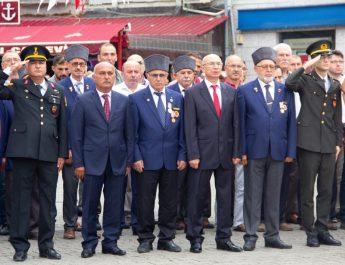 Tirebolu, Gaziler Günü'nü kutladı!