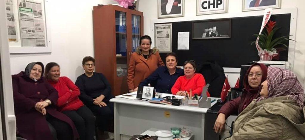 CHP Kadın Kolları'nda görev bölümü!
