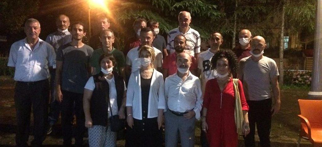 İYİ partililer, Tirebolu'da buluştu!
