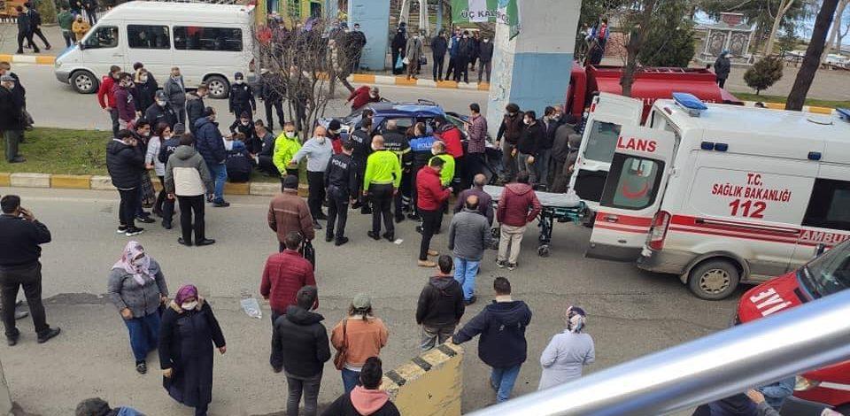 Tirebolu'da feci kaza; 1 ölü, 4 yaralı!