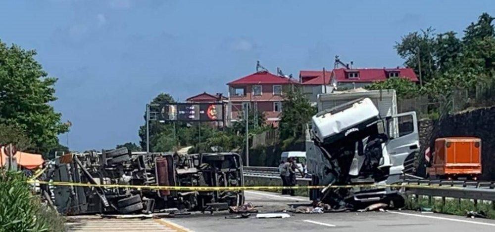 Civil'deki kazada yaralanan şahıs öldü!